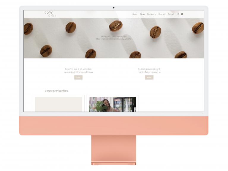 Copy Koffie Website Design