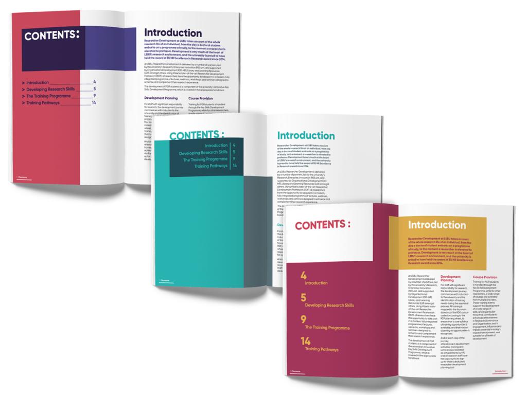 LSBU Handbook Design Proposals
