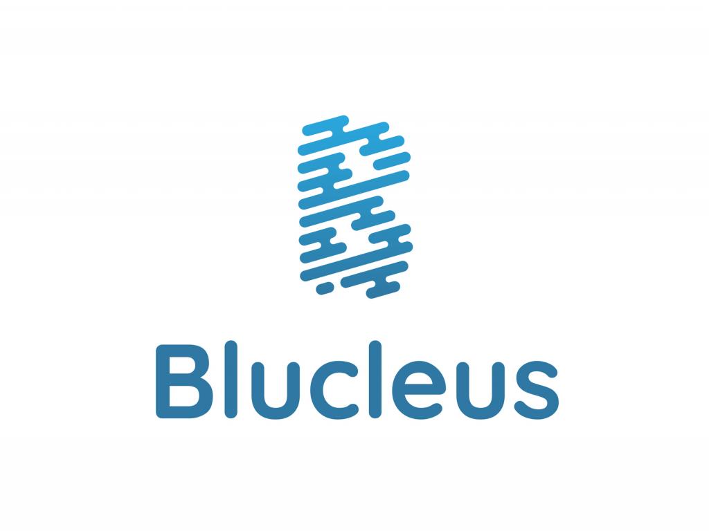Blucleus Logo Design