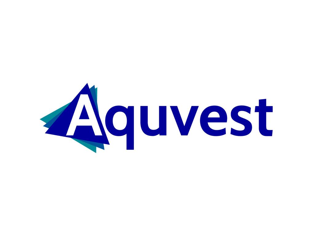 Aquvest logo Design