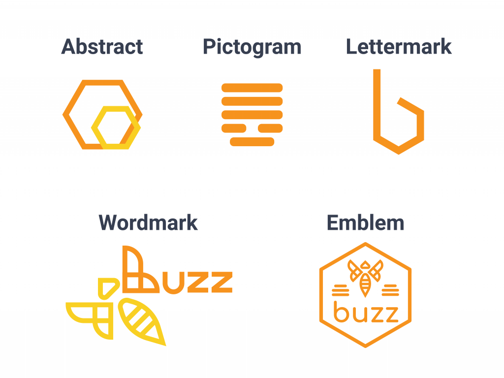 Buzz Branding Logo Pillars